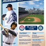 Family Night at the Mariners! April 25