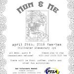 Moms & Me, April 29th 8-9am
