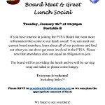 The PTSA Board is looking for fun and creative people to join the board next year!