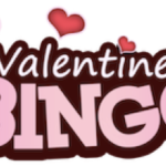 Sign up for Valentine Bingo, February 9